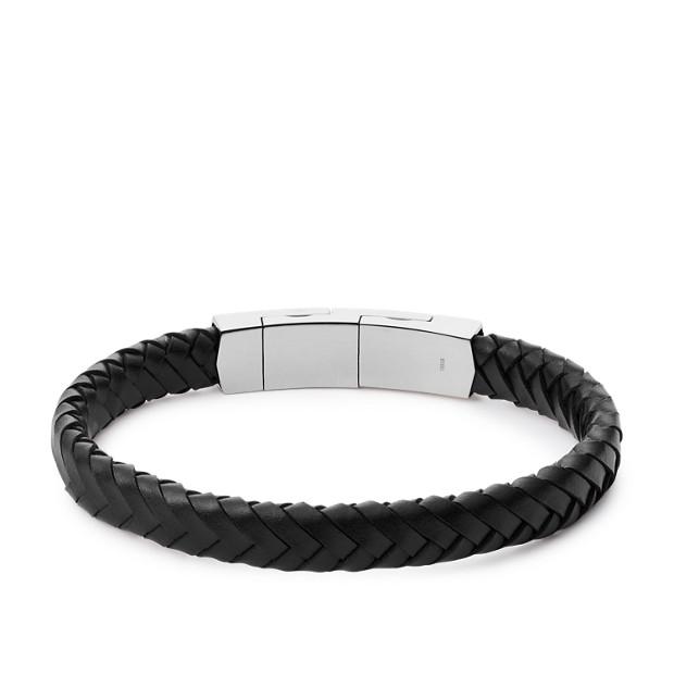 Vintage Casual Black Braided Bracelet