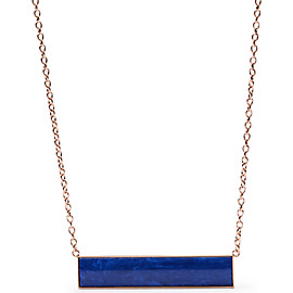Semi-Precious Bar Necklace