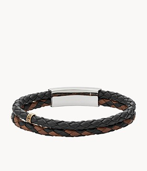 Vintage Casual Multi-Strand Leather Bracelet