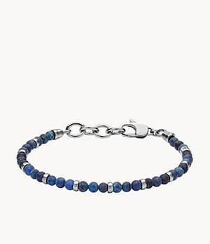 Herren Armband Vintage Casual Blue Beaded