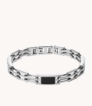 Plaque Stainless Steel Bracelet