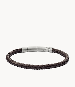 Braided Leather Cord Bracelet
