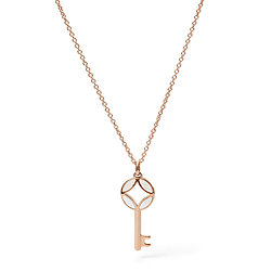 d53761a5c0f Rose Gold Necklace, Necklaces for Women - Fossil