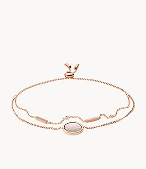 Damen Armband - Coin Edge Mother Of Pearl