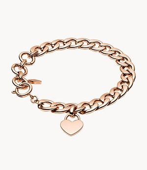 Damen Armband - Rose Gold-Tone Steel