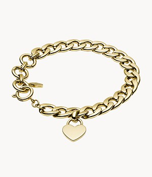 Damen Armband - Gold-Tone Steel