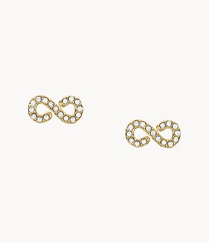 Infinity Gold-Tone Steel Studs