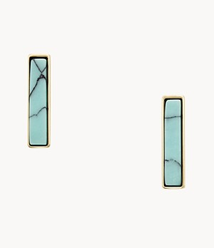 Modern Meadows Turquoise Earrings