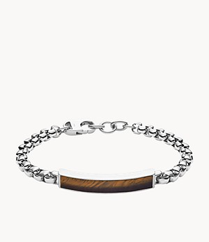Dive Tiger's Eye Chain Bracelet