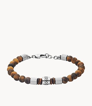 Heritage Tiger's Eye Beaded Bracelet