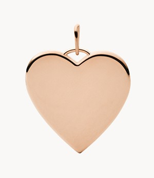 Oh So Charming Rose Gold-Tone Stainless Steel Charm