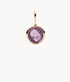 Oh So Charming Amethyst Charm