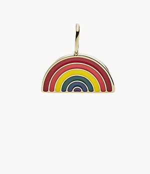 Oh So Charming Rainbow Stainless Steel Charm