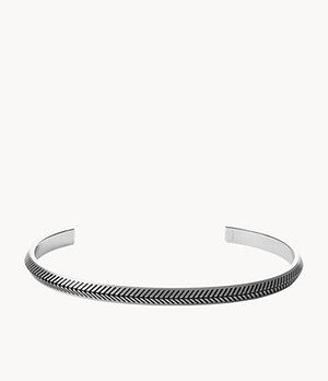 Foundations Stainless Steel Cuff Bracelet