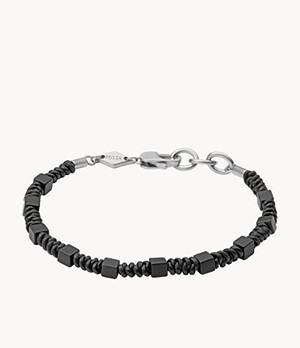 Caravan Black Lava Beaded Bracelet