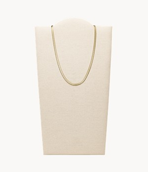 Golden Sun Gold-Tone Stainless Steel Chain Necklace