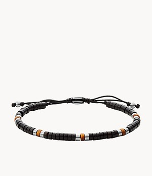 Summer Beads Tiger's Eye and Black Onyx Beaded Bracelet