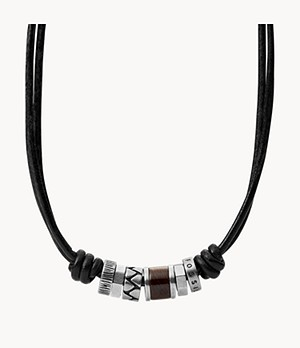 Black Rondell Necklace