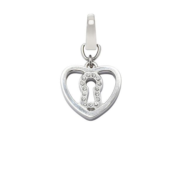Heart Lock Charm