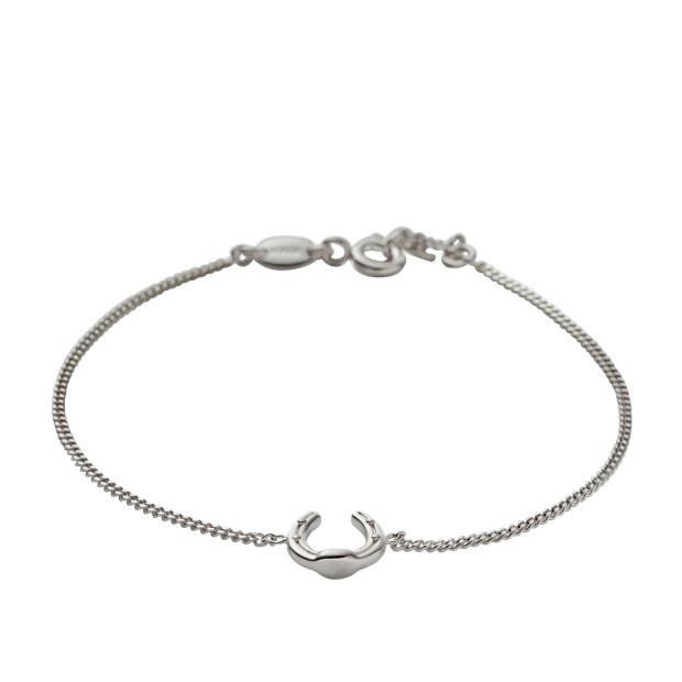 Sterling Horseshoe Bracelet