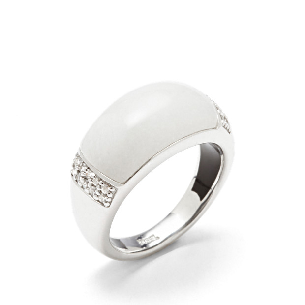 Damen Ring Sterling Marble