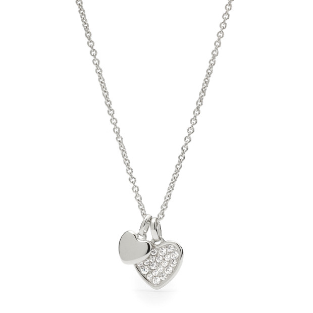 Damen Halskette Sterling Heart
