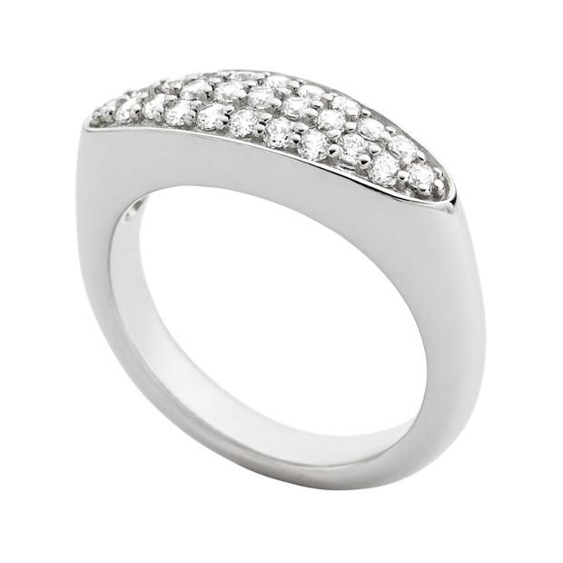 Sterling Petal Ring