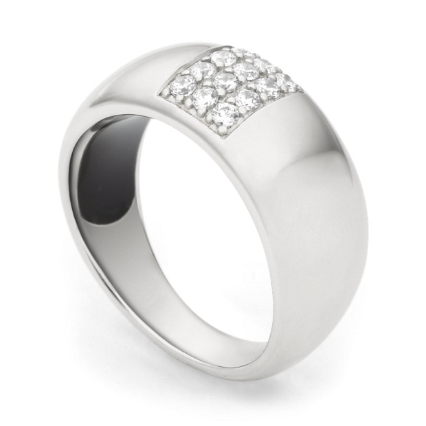 Sterling Glitz Ring