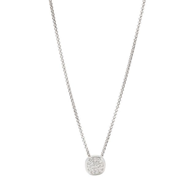 Damen Halskette - Sterling Glitz Cushion