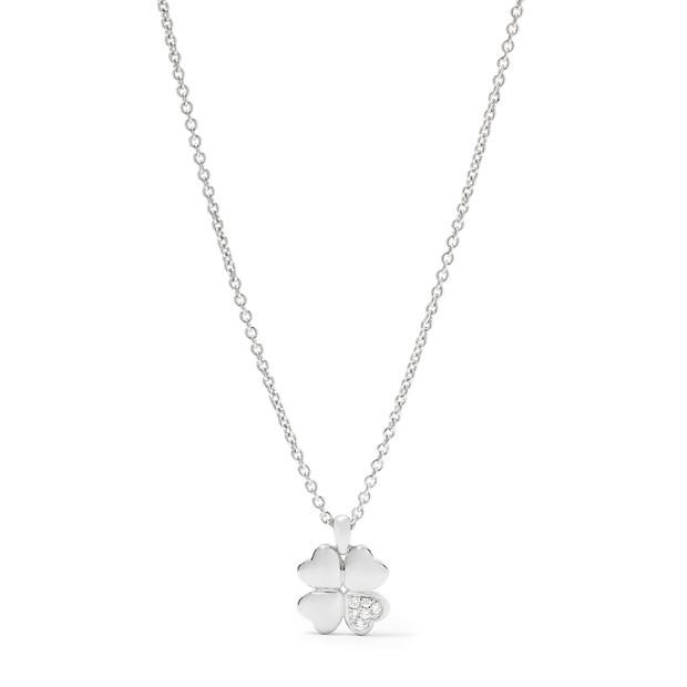 Damen Halskette - Sterling Motiv Klee