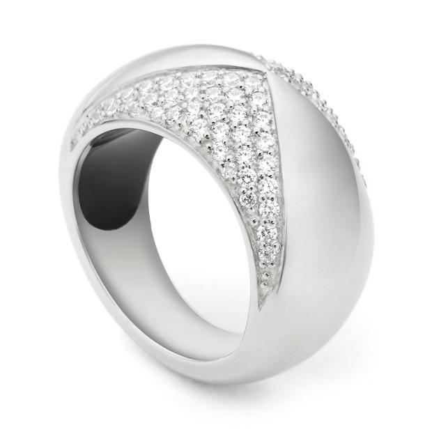 Damen Ring - Sterling Glitz
