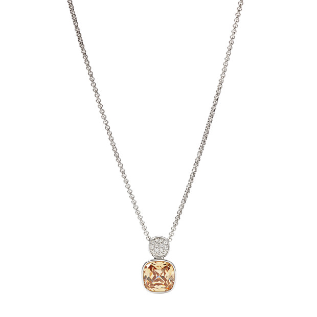 Sterling Champagne Pendant
