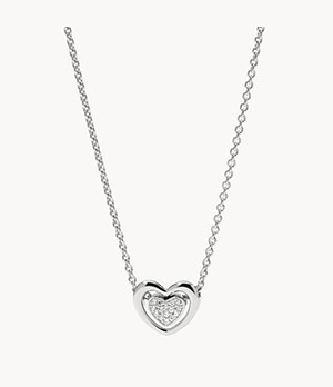 Sterling Heart Pendant