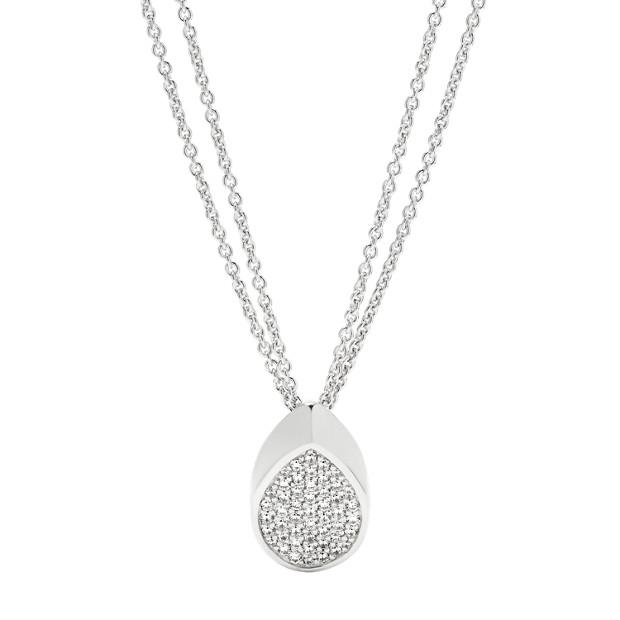 Damen Halskette - Sterling Surface Shine Pendant