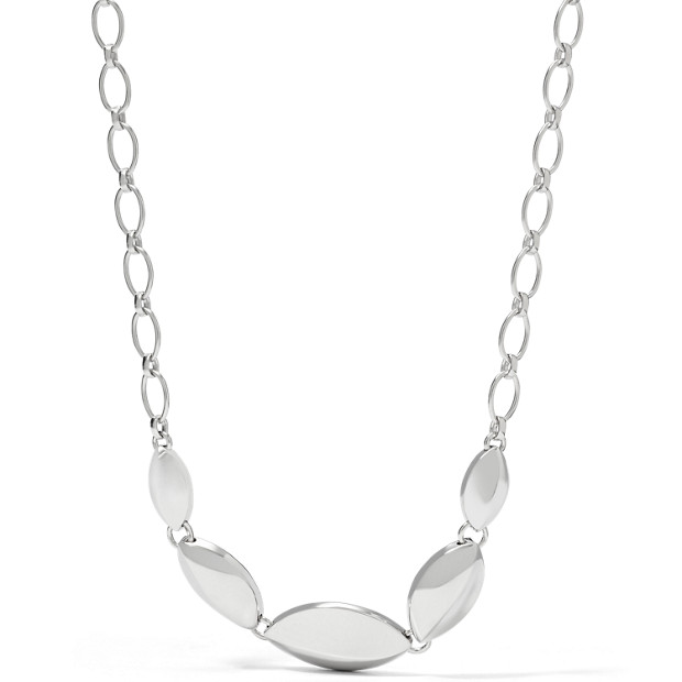 Sterling Clean Edge Collier