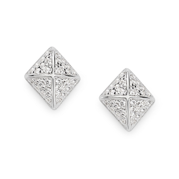Damen Ohrstecker - Sterling Diamond Icon