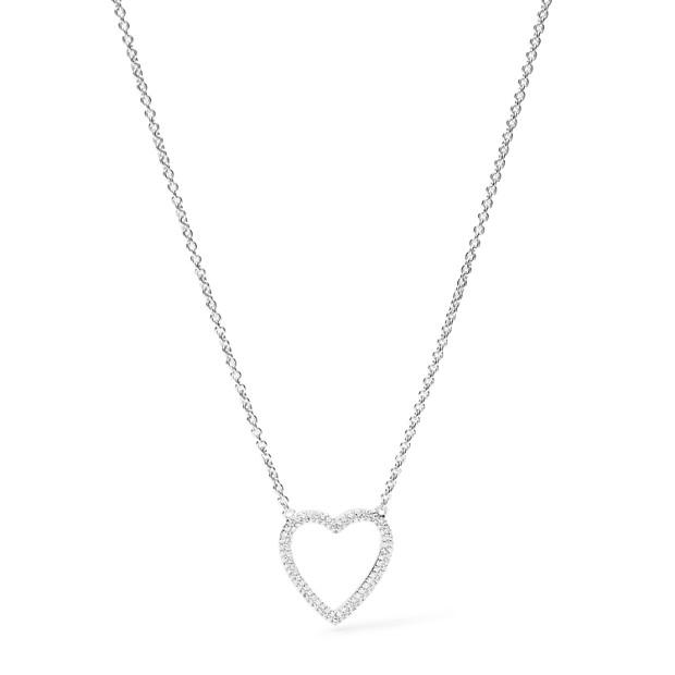 Damen Halskette - Sterling Heart
