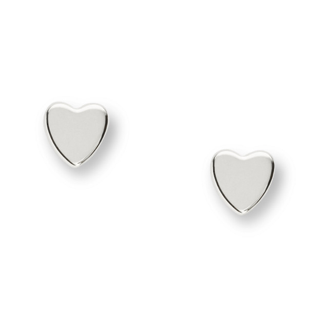 Damen Ohrstecker - Mother's Day Heart Sterling Silver Boxed Studs