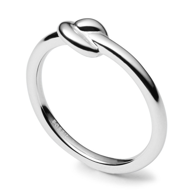 Damen Ring - Sterling Silver Knot