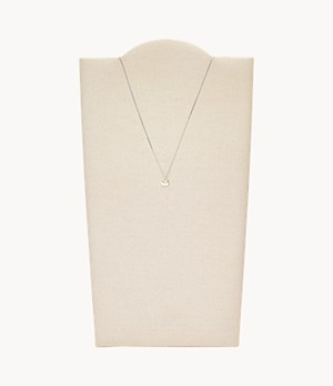 Duo Heart Two-Tone Sterling Silver Necklace