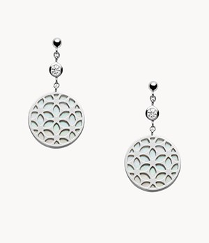 Floral Sterling Silver Earrings