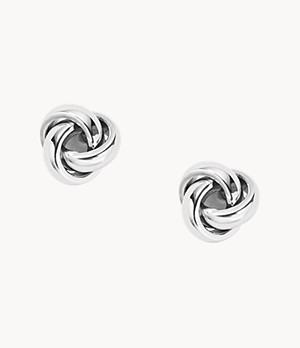 Twisted Knot Stainless Steel Studs