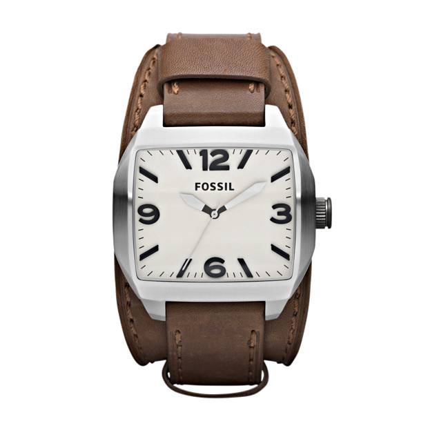 Roland Leather Watch - Brown