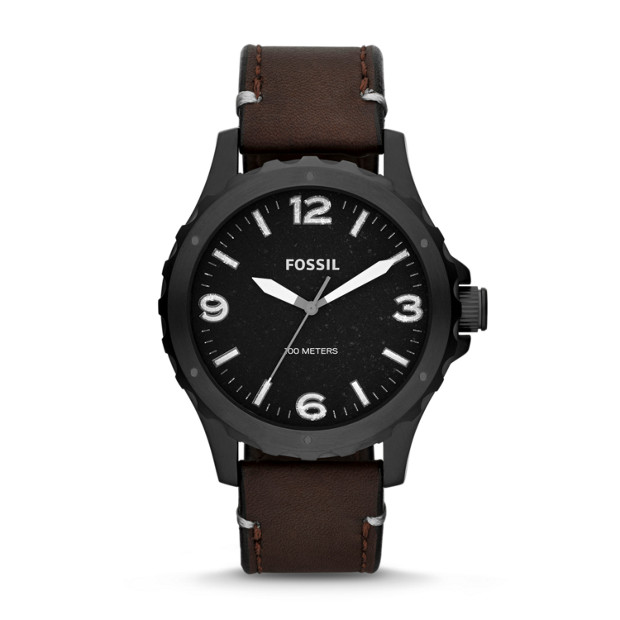 Nate Brown Leather Watch