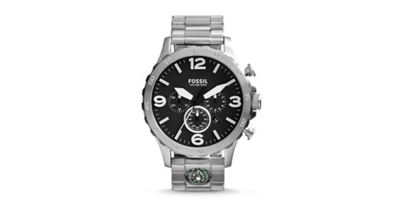 fossil nate chronograph instructions