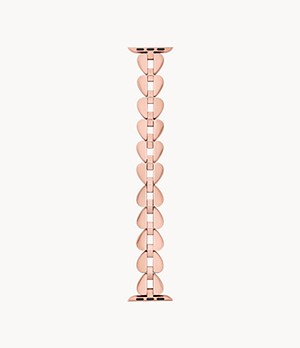 kate spade new york rose gold-tone stainless steel 38/40mm bands for Apple Watch®