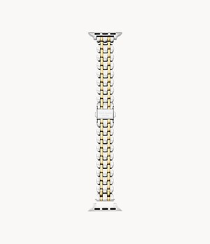 kate spade new york two-tone steel 38/40mm bracelet band for Apple Watch®