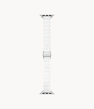 kate spade new york white ceramic 38/40mm bracelet band for Apple Watch®