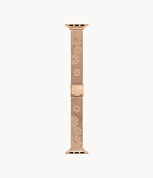 kate spade new york rose gold-tone stainless steel mesh 38/40mm band for Apple Watch®