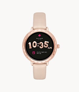 REFURBISHED kate spade new york pink scallop touchscreen smartwatch